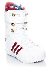 Adidas Footwear White-Collegiate Burgundy-Gold Metallic Superstar ADV Snowboard