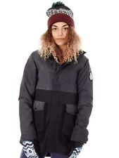 Burton True Black Cerena Parka Womens Snowboarding Jacket