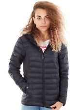 Burton True Black Lyndon Synthetic Hooded Insulator Womens Jacket
