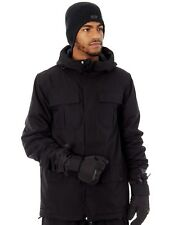 Volcom Black Alternate Insulated Snowboarding Jacket