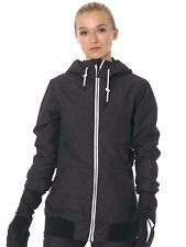 Volcom Black Alesk Insulated Womens Snowboarding Jacket