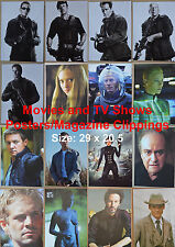 Posters Magazine Clippings Movies TV Shows - 29 x 20.5 - A4 - Spanish Spain Mag