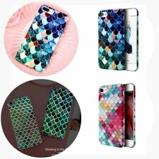 For iPhone X 7 6 Samsung S8 S7 Hard Case Thin Shockproof Hybrid Phone Cover Skin