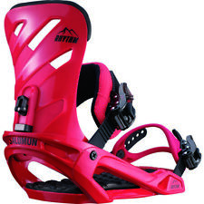 Fixations Snowboard fixations SALOMON RHYTHM Red 2018 Taille Moyenne