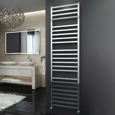 304 Stainless Steel Heated Towel Rail Bathroom Radiator Square Designer Polished