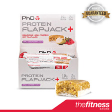 PhD Nutrition Flapjack+ (12x75g) - FAST FREE DELIVERY