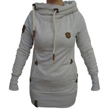 Naketano Darth Long IX Damen Kapuzenpullover Hoodie