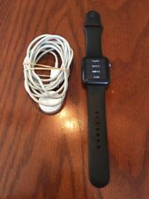 Apple Watch 7000 Series 38mm Space Gray Case Black Sport Band -Choose Band Size