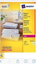 Avery L7163 Address Labels 14 Labels per Sheet Laser Quick peel 5 10 20 50 100