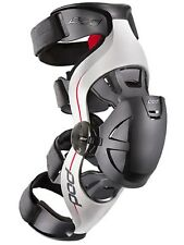 POD Grey-Red K4 MX Left Knee Brace