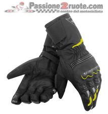 Guanti Dainese Tempest D-Dry Long Nero Giallo-Fluo Moto Gloves