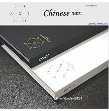 EXO EX'ACT EXACT 3rd ALBUM CHINESE _ MONSTER CD+Photocard+Poster+Gift Photo,New