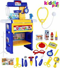 Kiddie Play Toy Doctor Kit For Kids With A Variety Of Medical Equipment