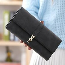Long Purse Woman Fashion Female Wallet Clutch Leather Hasp Ladies Card Holder