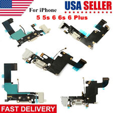 USB Charging Port Charger Connector Dock Flex Cable For Apple iPhone 5 6 6S Plus