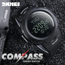 New SKMEI Outdoor Sports Compass series Hiking Digital LED Chronograph Men Watch
