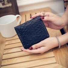 Leather Wallet Ladies Small Card ID Holder For Women Coin Purse Female Money Bag
