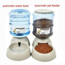 Pet Feeder Drinking Fountain 3.5L Large Automatic Cats Dogs Food Water Dispenser