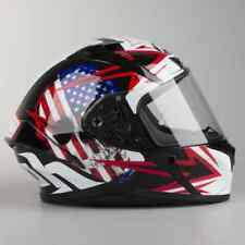 Casco Helmet  Moto integrale fullface Airoh Valor Sam Black Gloss