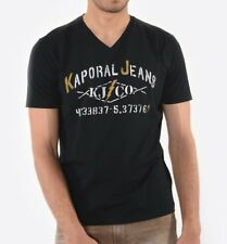 Tee shirt Kaporal manches courtes homme MAKAO BLACK