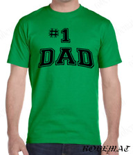 1 Dad Best  Father & Son tshirt Gift Dad matching Fathers Day Funny Shirt