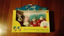 Manhattan Toy Dr. Seuss Cat in the Hat Finger Puppet Boxed Set, 2007 SEALED