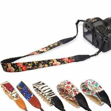 Vintage SLR DSLR Camera Shoulder Neck Strap Belt fr Canon Nikon Pentax Sony Fuji