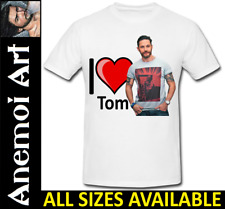 T691 I Love Heart Tom Hardy shirt tee t-shirt Secret Santa Xmas Gift
