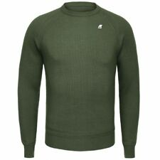 K-WAY MAGLIE UOMO PULLOVER misto LANA aut/inv LACELOT WOOL New KWAY D05nyqaiek