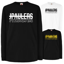 Jake Paul JPAULERS LONG SLEEVE Its Everyday Bro Tshirt Youtuber Youtube Logan