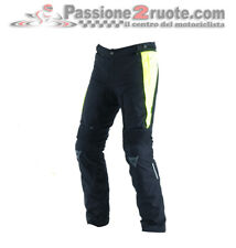 Pantaloni Dainese D-Stormer D-Dry Nero Giallo Fluo Moto Pants