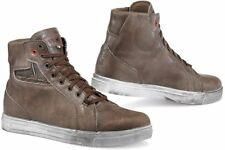 Scarpe Shoes Moto scooter TCX Street Ace WP Marrone Brown city urban work