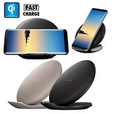 QI Rapida Wireless Caricabatterie Ricarica Supporto per Samsung Galaxy Note 8