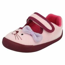 bambine Clarks lavabile in lavatrice Pantofole SHILO CANDY