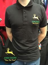 JOHN DEERE POLO SHIRT TOP FRUIT OF THE LOOM POLO TOP STOCKING FILLER  + XMAS