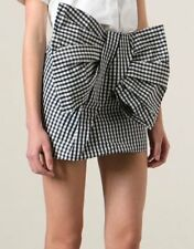 Marc by Marc Jacobs - Giant Bow Black/White Check Skirt
