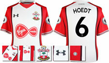 17 / 18- UNDER ARMOUR; SOUTHAMPTON HOME SHIRT SS + PATCHES / HOEDT 6 = ADULTS