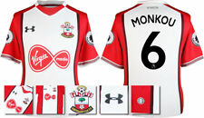 17 / 18- UNDER ARMOUR; SOUTHAMPTON HOME SHIRT SS + PATCHES / MONKOU 6 = ADULTS