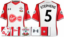 17 / 18- UNDER ARMOUR; SOUTHAMPTON HOME SHIRT SS + PATCHES / STEPHENS 5 = ADULTS