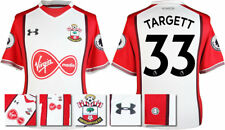 17 / 18- UNDER ARMOUR; SOUTHAMPTON HOME SHIRT SS + PATCHES / TARGETT 33 = ADULTS