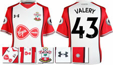 17 / 18- UNDER ARMOUR; SOUTHAMPTON HOME SHIRT SS + PATCHES / VALERY 43 = ADULTS