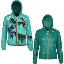 K-WAY LILY PLUS DOUBLE GRAPHIC giacca DONNA cappuccio prv/est NEW KWAY 915bbfsmq