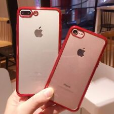 Iphone Cover For iPhone 6 6S 7 Plus Phone Case Transparent Ultra-Thin Soft TPU