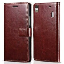 Lenovo Case For K3 Note K50-T5 Flip PU Leather Wallet Stand Cell Phone Cover