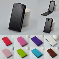 Lenovo Cover For  A536 A 536 A358T Luxury Pu Vertical Flip Back Leather Case
