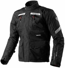 chaqueta de motociclista touring Revit Rev'It Neptune GoreTex Black Impermeable