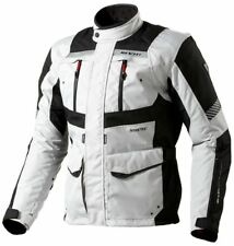 Chaqueta de motociclista 4 estaciones Revit Rev'It Neptune GoreTex Silver Black
