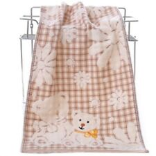 Cotton Towels Exquisite Design Cartoon Bear Bath Face Strong Water Absorption
