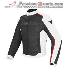 Giacca Dainese Hydra Flux D-Dry Nero Bianco Rosso Moto Jacket