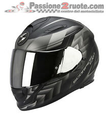 Helmet Scorpion Exo 510 Air Escaliers black grey motorrad casque integral casque